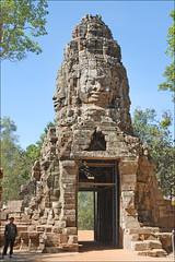 Gopura occidental du temple Ta Prohm (Angkor)
