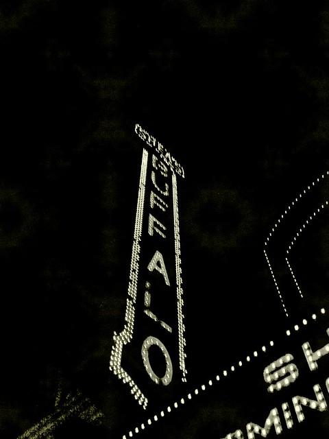 Shea's Buffalo at night