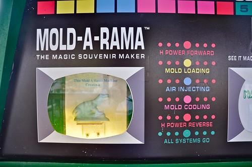 Mold A Rama Closeup