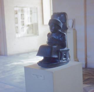 Paris - Louvre - Sumerian Statue of Gudea (2120 B.C.)