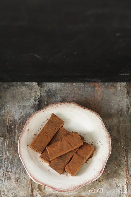 Truffes au chocolat et Amaretto
