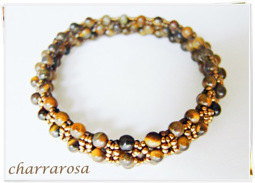 Bangle ojo de tigre by charrarosa