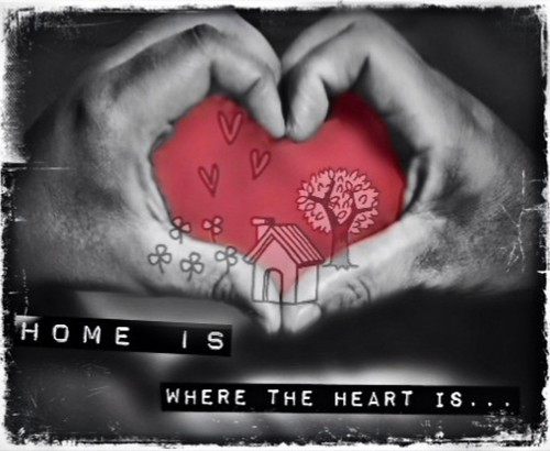 243/365- Home is where the heart is... by elineart