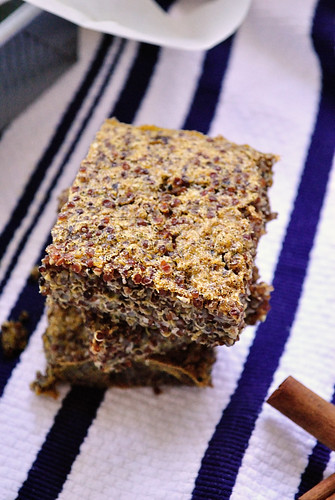 Meatless Monday: Cinnamon Quinoa Breakfast Bake | Gabby's Gluten-Free