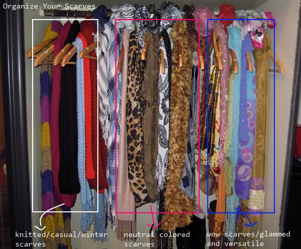How to Organize Scarf