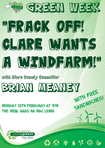 Energy politics in Co. Clare with Cllr. Brian Meaney - NUI Galway Young Greens Event