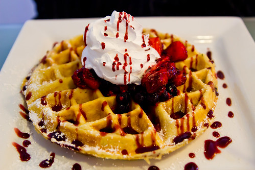Mega Berry at WafflesINCaffeinated