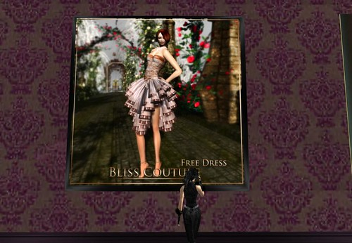 Bliss Couture March Gift Dress (Members Exclusive) by Cherokeeh Asteria