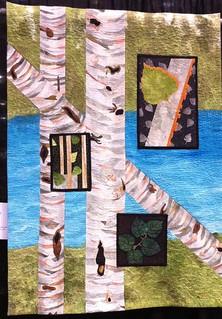 Birches by the Lake ~ Diane Land