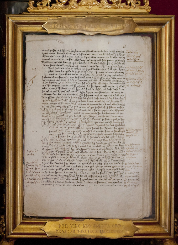Letter to Blessed Diana