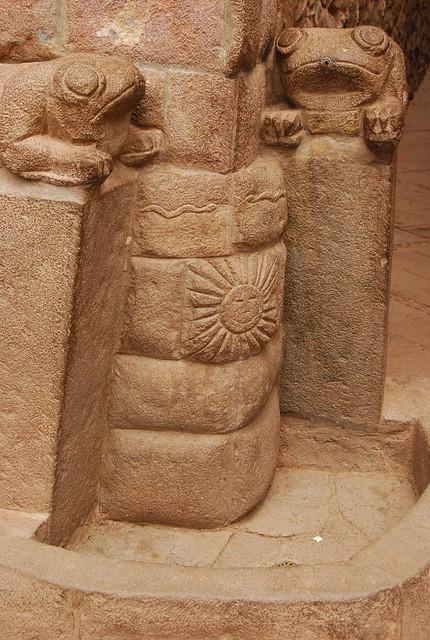 Piedras talladas en Pisac