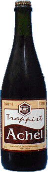 beer bottle of Achel Trappist