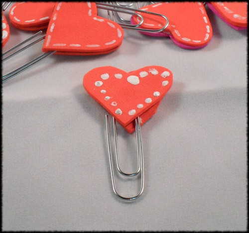 Heart Bookmark closeup