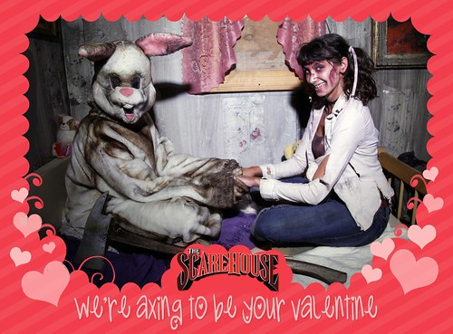 We're Axing to Be Your Valentine