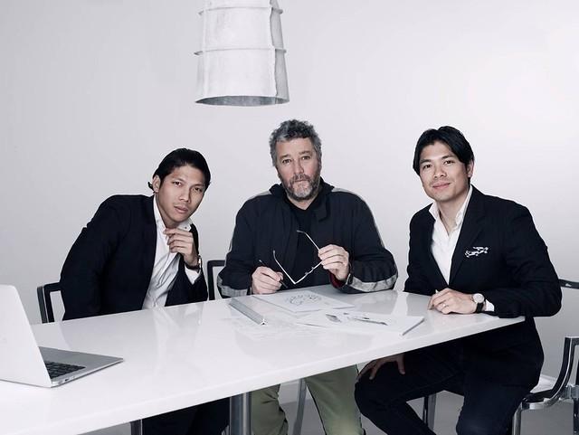 Robbie Antonio, Philippe Starck, Jigger Antonio