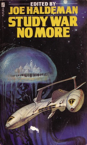 Study War No More edited by Joe Haldeman. Futura 1987. Cover artist Vicente Segrelles
