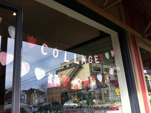 Collage in Sellwood!