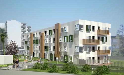 Proyecto 32 viviendas garajes y trasteros en fadura - Viviendas en getxo ...
