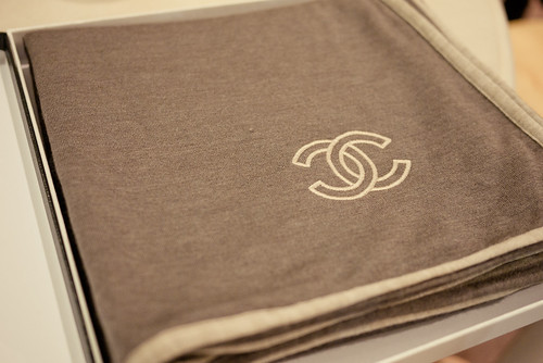 The most exquisite Chanel scarf