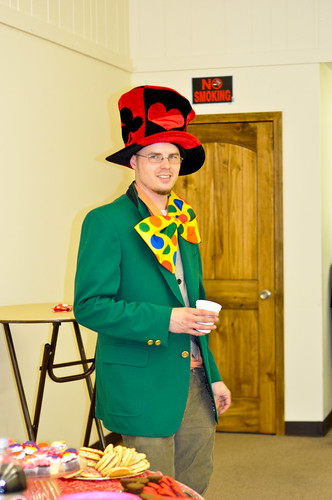 Greg as the Mad Hatter | 02/12/12