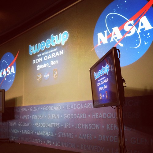 Tweet-up at NASA HQ