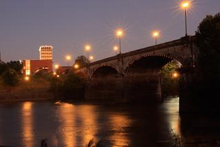 Columbus-GA-Georgia-dusk-dillingham-street-bridge