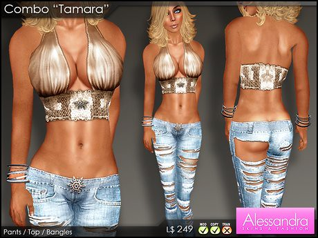"ALESSANDRA - Combo Outfit ""Tamara"", 249 lindens by Cherokeeh Asteria"