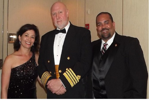 Kim, Jose & Ship Captain Ralf Zander