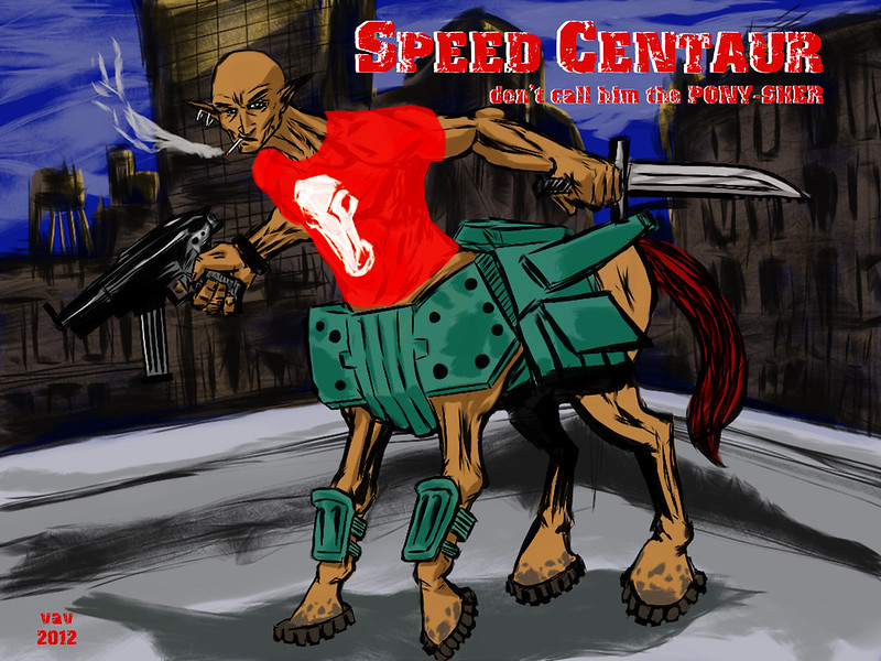 Speed Centaur - Remake / Remodel