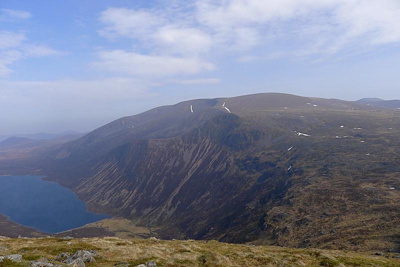 Braeriach above Loch Einich