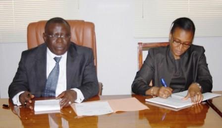 Le Ministre CISSE Ibrahima reçoit une délégation Sud africaine