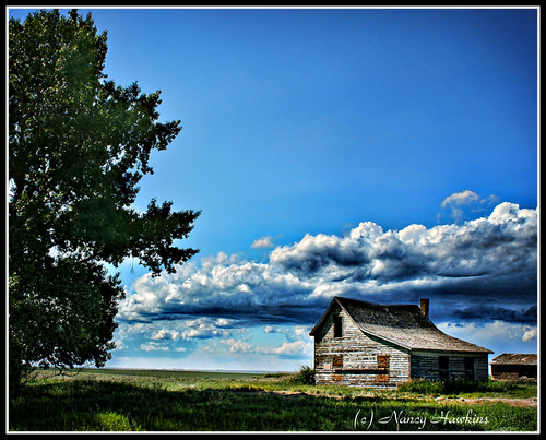 Clouds Creeping In by Nancy Hawkins