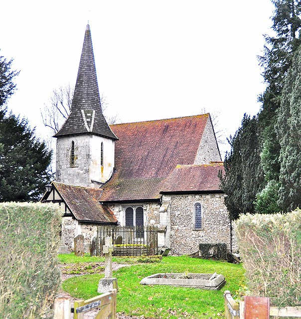Chaldon parish church flickr photo sharing for Chaldon church mural
