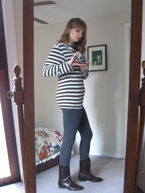 Leggings + Stripes