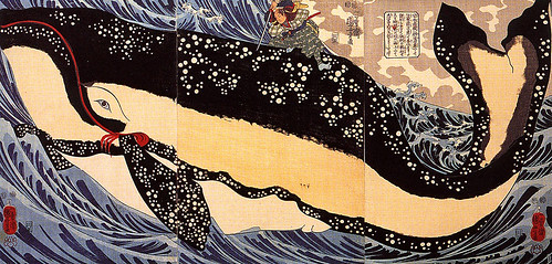 Musashi sobre la ballena