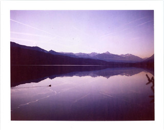 201112 09 Millstätter See Polaroid 690
