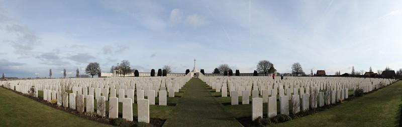 Tyne Cot Cemetery Panorama