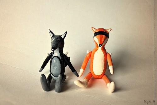 Mr Wolf & Mr Fox