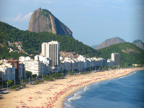 Pan de Azúcar y playa Copacabana