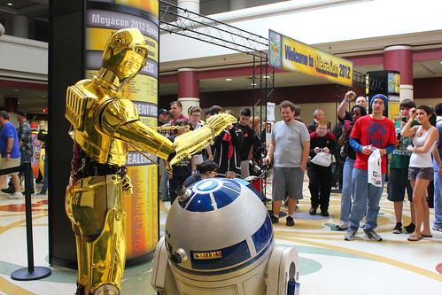 C-3PO and R2-D2 - MegaCon 2012