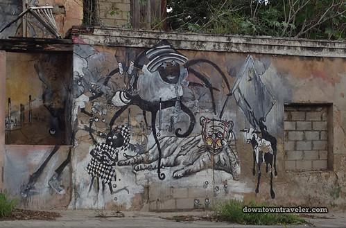 Curacao Caribbean Street Art Shell Oil 01
