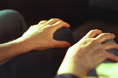 お母さんの手