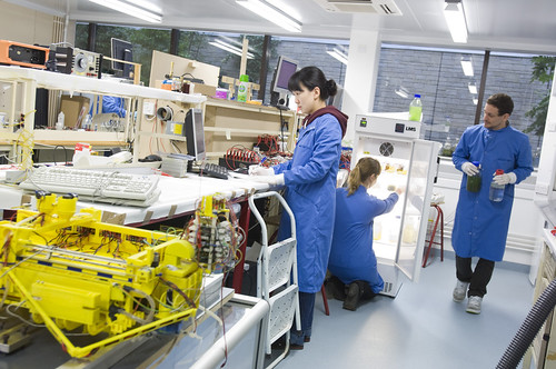 Microbial fuel cell research at the Bristol Robotics Laboratory