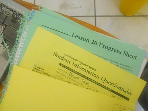 ATS, evaluaciones de escuela en casa