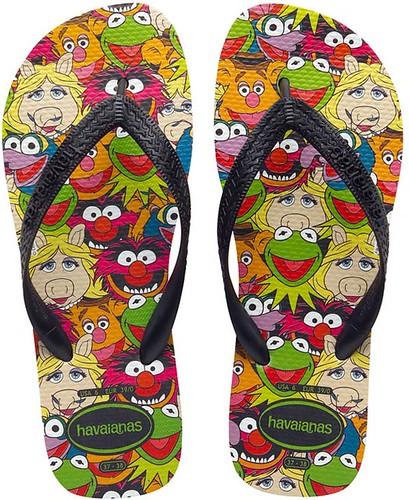 havaianas muppets