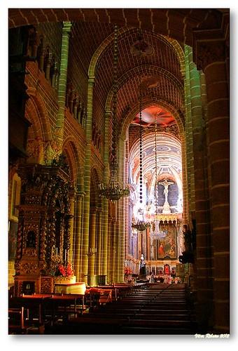 Interior da Sé catedral de Évora by VRfoto