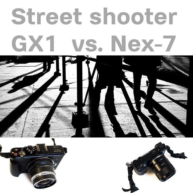 Panasonic_GX1_vs_Sony_Nex_7_street