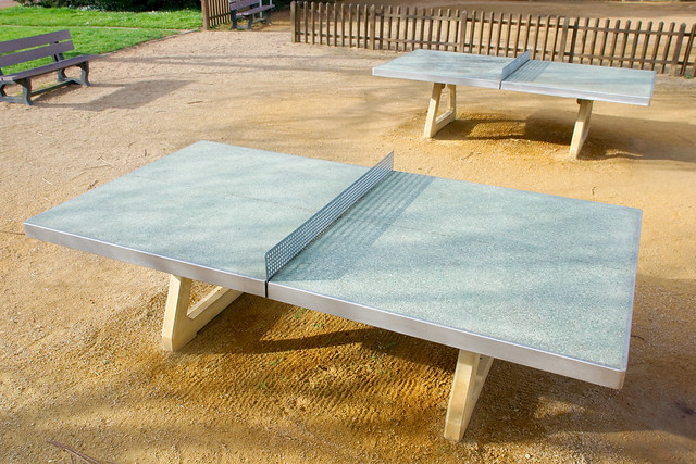 Tables de ping pong d ext rieur flickr photo sharing - Table ping pong exterieur ...