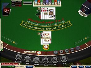Match Play 21 Blackjack Win
