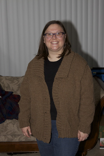 Rebecca's New Sweater